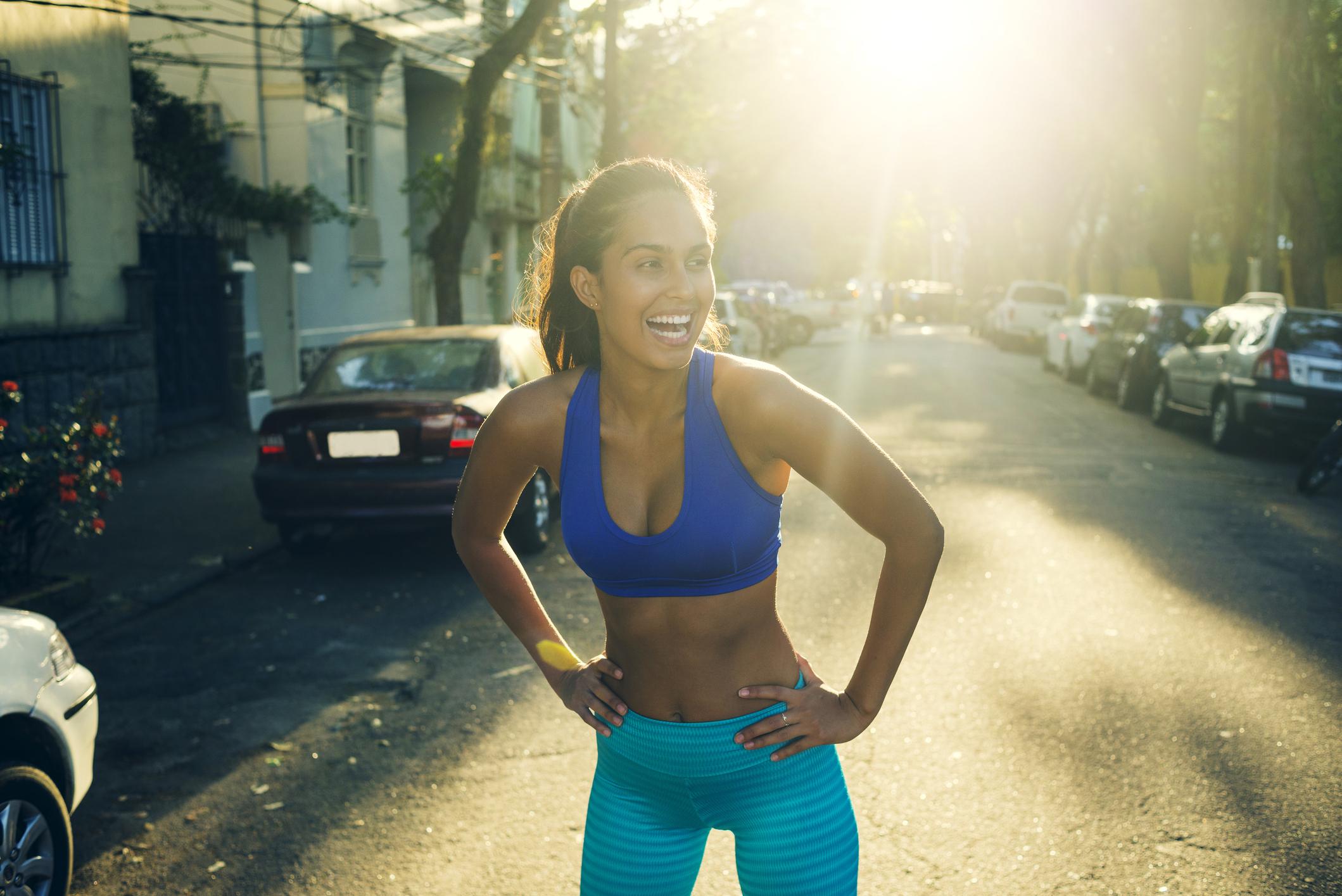 gå ner i vikt av att springa